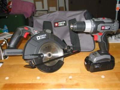 Porter Cable Drill & Circular Saw