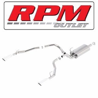 Sell BORLA TOURING CAT BACK EXHAUST 140552 FOR YOUR 2009-2016 DODGE RAM 1500 5.7L V8 motorcycle in Gilbert, Arizona, United States, for US $999.99