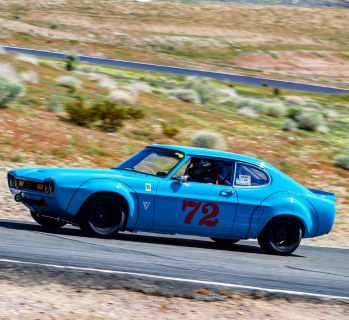 1971 Ford Capri Trans Am B Sedan FIA Race Car