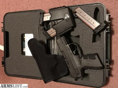 For Trade: Springfield XDe 9mm trade for AR 15