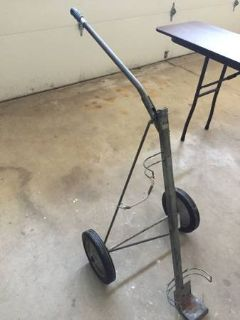 Golf bag cart - vintage