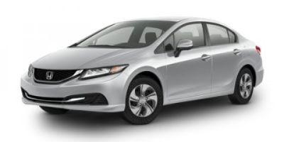2014 Honda Civic LX (White)