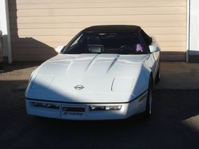 Clean 1990 White Convertible