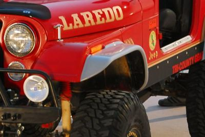 Buy 76-80 Jeep CJ Front, Left Fender Extension Traditional 1 Pc SUV motorcycle in Anaheim, California, US, for US $79.29