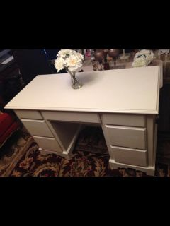 $100, Shabby Chic Wood Project Piece Desk OBO