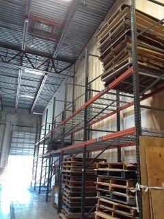 Pallet Racking for Storing Doors, Roof Materials, Tiles, Wood Flooring