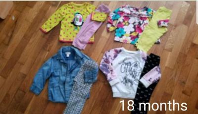 Lot of 18 month outfits