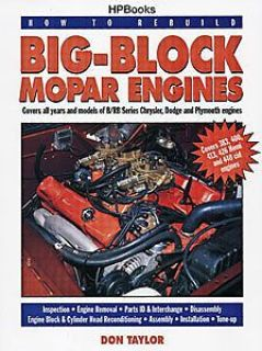 Find HP Books 1-557-881901 Book: How to Rebuild Big-Block Mopar Engines motorcycle in Delaware, Ohio, United States, for US $18.65