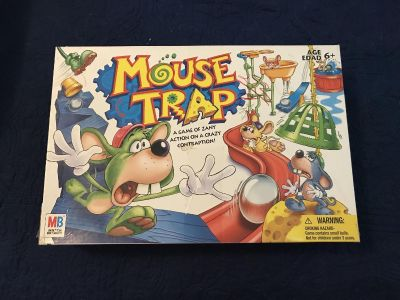 Mousetrap game. Age 6 up