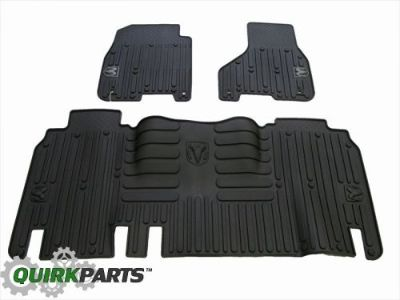 Purchase 2013-2016 Dodge Ram Mega Cab FRONT & REAR RUBBER SLUSH MATS BLACK OEM NEW MOPAR motorcycle in Braintree, Massachusetts, United States, for US $114.63