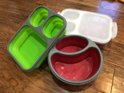 Set of 3 Silicone Lunch Kits