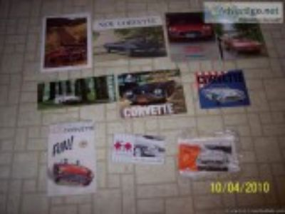 - Corvette Sales Brochures and Pic