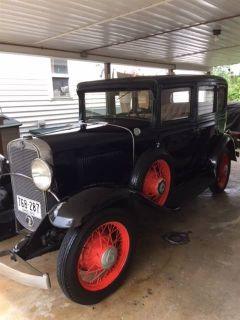 1931 Chevrolet Deluxe Touring Sedan