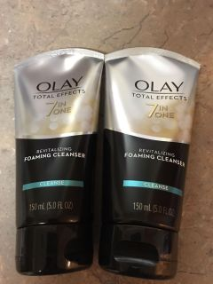 Olay Total Effects Foaming Cleanser $8 for both!