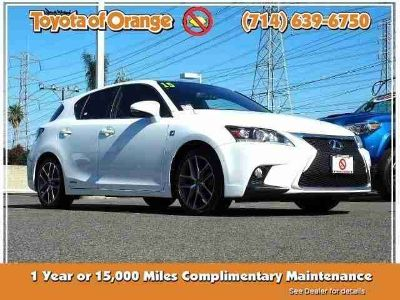 Used 2015 Lexus CT 200h 5dr Sdn