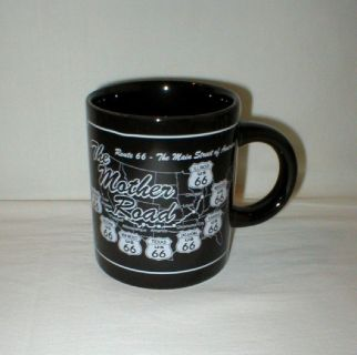 Rt 66 The Mother Road Main Street of America Coffee Mug Cup