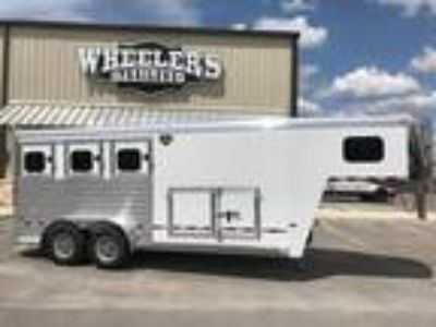 2018 Hart Trailers MVP 3H with Smart Storage 3 horses