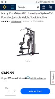 Marcy Home Gym Brand New!