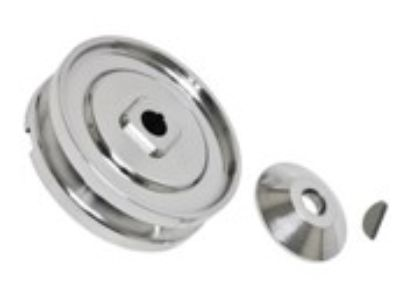 Polished Alt/gen Pulley Kit