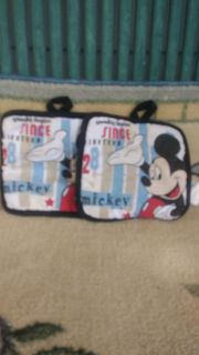 Vintage Mickey mouse porch holders