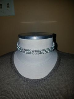 Chocker style necklaces