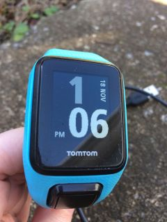 Tomtom Spark GPS Running Watch