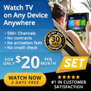 500 Channels only $20 Per Month - Premium Channels Included!