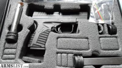 For Sale/Trade: Unfired Springfield XD-S 45 + extras