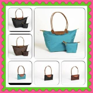 $20 Folding Nylon Tote Bag and Cosmetic bag