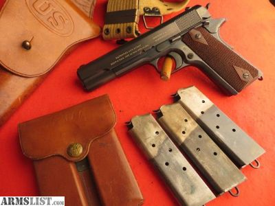 For Sale: Colt 1911, five digit made in 1913, excellent .45 ACP
