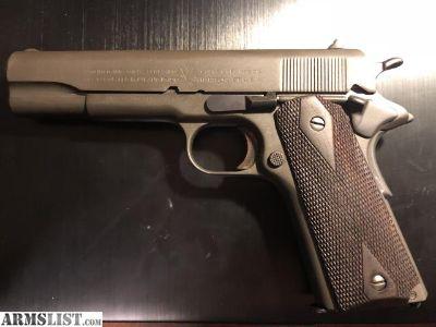 For Sale: Colt 1911 45acp