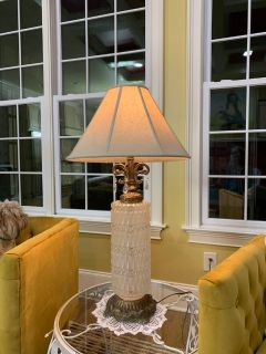 Mid Century Hollywood Regency Lamp