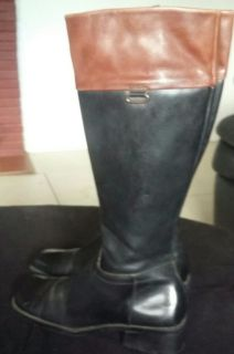 Enzo Angiolini all leather boots. 7m