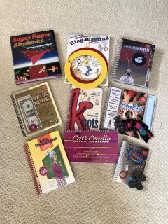 KLUTZ Activity Books!! All with Original Pieces!!