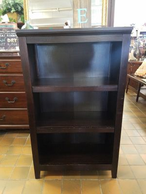 Bookcase $50 (28 wide by 13 1/2 deep and 48 tall)