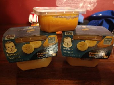 Gerber Supported Sitter food -- NIB