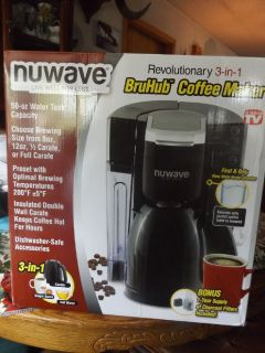 NuWave Bru Hub Coffee Maker