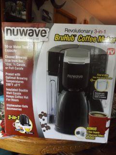 NuWave Bru Hub Coffee Maker