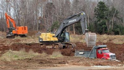 Construction equipment & dump truck funding