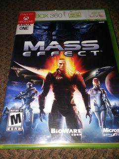 Mass Effect 360 XBOX game