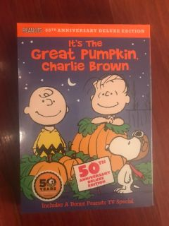 It s the Great Pumpkin Charlie Brown DVD