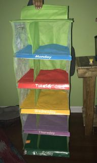 TMNT Weekly Clothes/Shoe Organizer