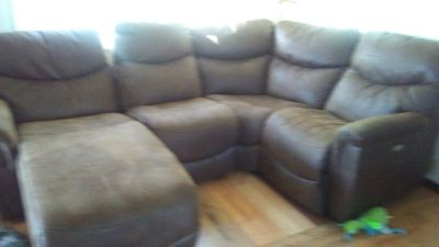 Lazy boy sectional and recliner 2 months old bought brand new