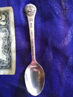 New York World's Fair Silverplated Mini Spoon!!