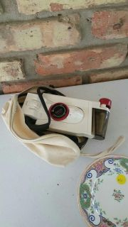 Travel iron, still works with bag