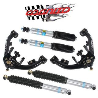 Find 01-10 Cognito Chevy 2500 HD 3500 8-Lug Upper Control Arms Kit 4 Bilstein Shocks motorcycle in Buena Park, California, US, for US $919.99