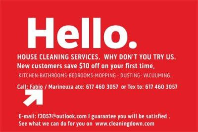 RESIDENCIAL CLEANING SERVICES