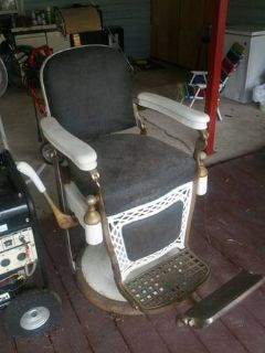 40s barber chair