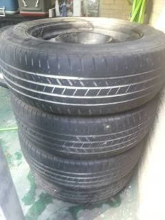 Four GoodYear Tires P215/65 R17