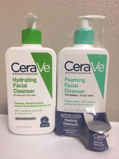 CeraVe Facial Cleansers. Price is Firm.